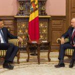 Додон встретился с новым руководителем офиса СЕ в РМ