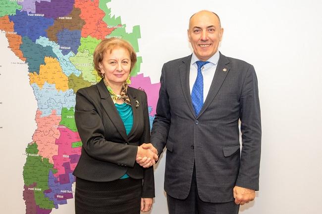 Гречаный провела встречу с новым послом Литвы в Молдове (ФОТО)
