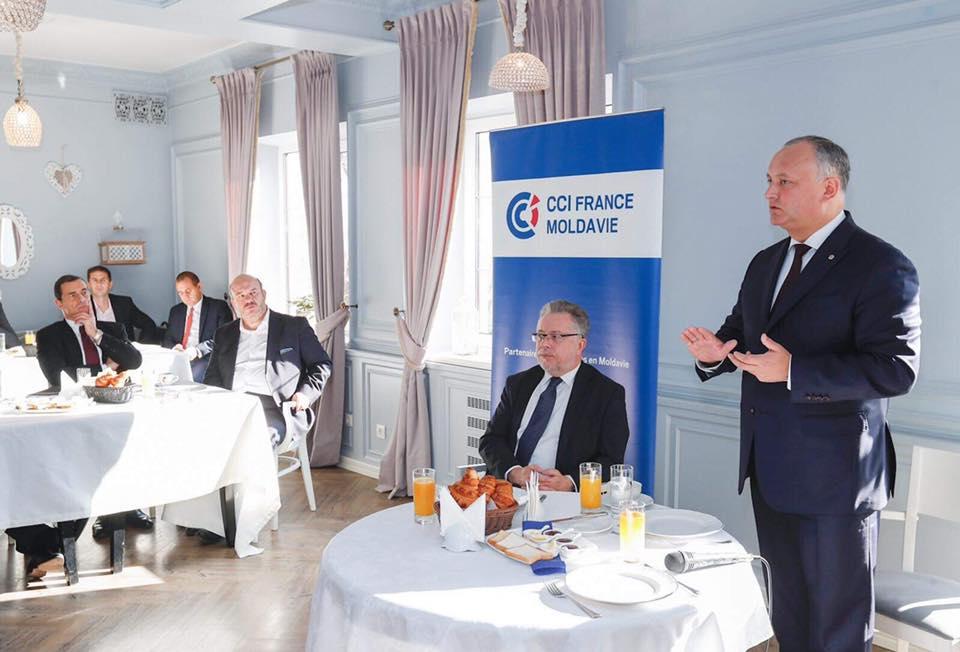 Президент намерен поддерживать все проекты, призванные содействовать развитию молдавской экономики (ФОТО)