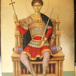 Додон поздравил верующих с Днем памяти великомученика Дмитрия Солунского