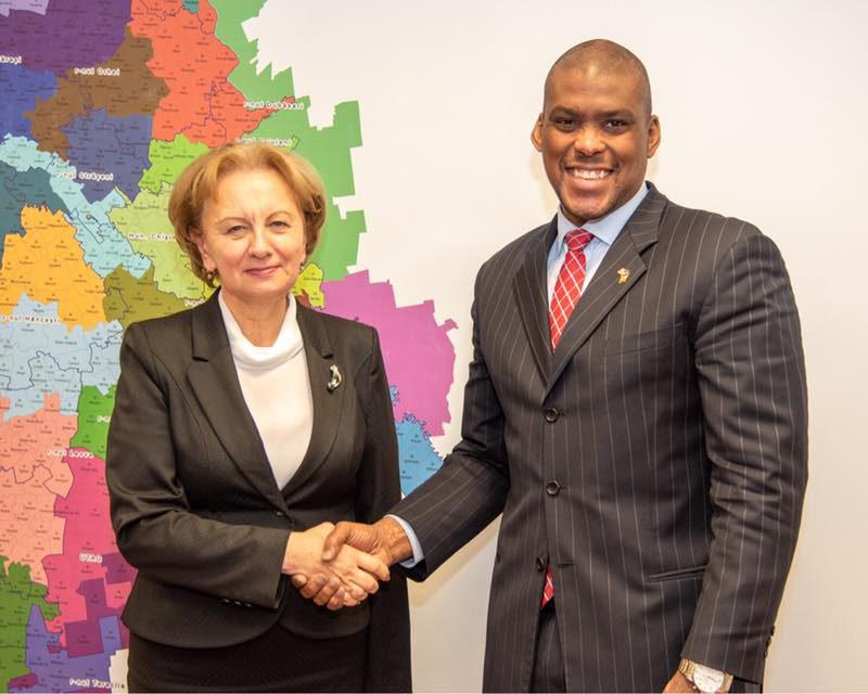 Гречаный встретилась с новым послом США в Молдове
