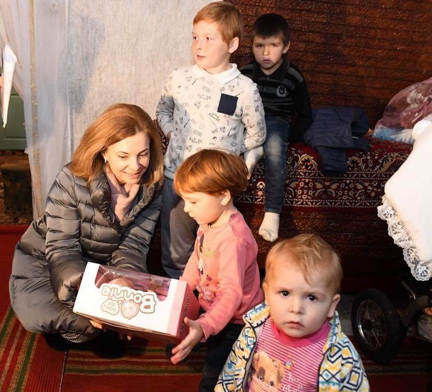 Благодаря фонду первой леди, еще одна молдавская семья обрела крышу над головой (ФОТО)