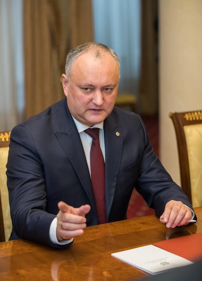 Хватит альянсов! Додон призвал граждан отдать власть одной партии (ВИДЕО)