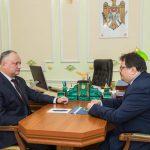 Додон встретился с послом ЕС в Молдове (ФОТО)
