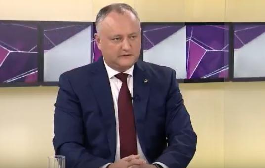 Додон: С 1 января десятки тысяч молдаван смогут приехать из России в Молдову, чтобы увидеть свои семьи (ВИДЕО)