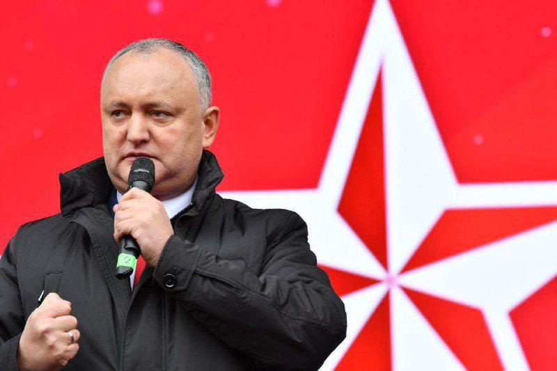 Додон: 2019-й год будет годом победы социалистов и народа Республики Молдова (ВИДЕО)