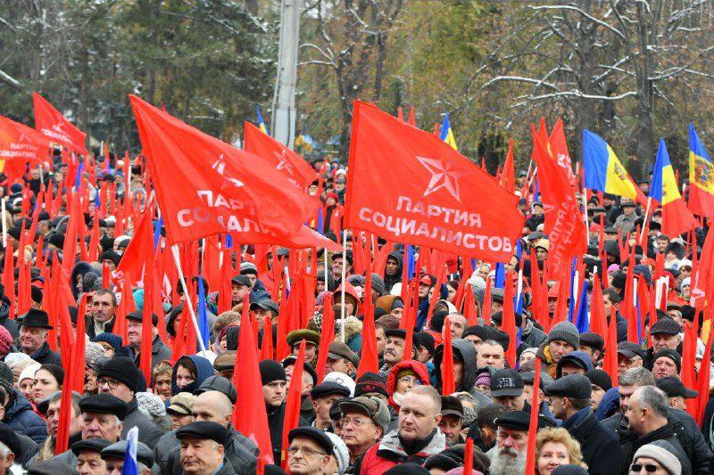 ПСРМ: Борьба, протесты, митинги (ВИДЕО)