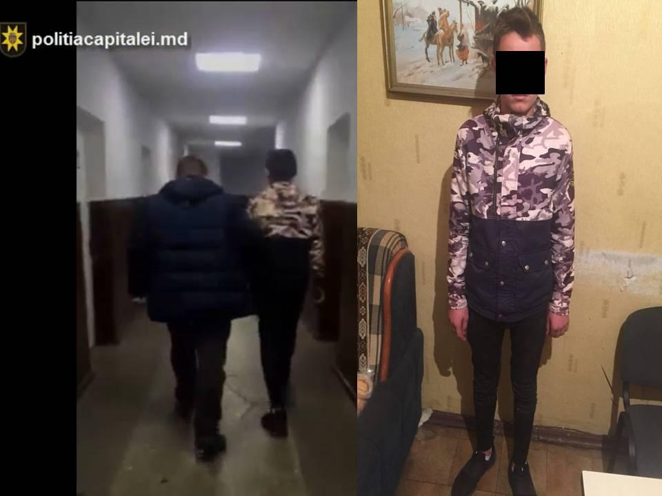 Подросток из Хынчешт совершил два разбойных нападения в Кишиневе: ему грозит до 7 лет тюрьмы (ВИДЕО)