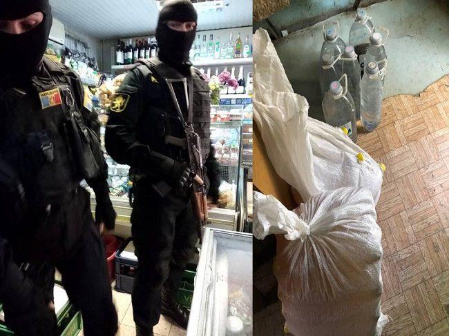 """В гараже на Чеканах мужчина организовал точку продажи контрафактного алкоголя: полиция """"прикрыла"""" незаконный бизнес (ВИДЕО)"""