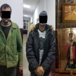 10 лет тюрьмы светит двоим задержанным за кражу икон (ВИДЕО)