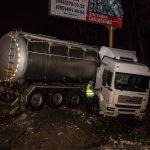 Молдавская фура попала в аварию на Одесскойтрассе