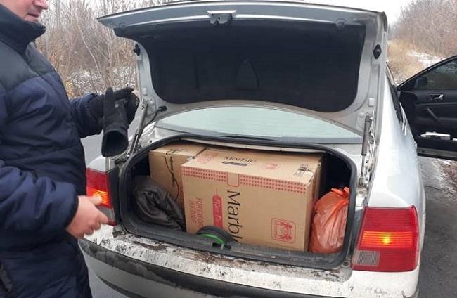 Два украинца пытались незаконно вывезти из Молдовы сигареты на 126 тысяч леев (ФОТО)
