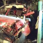 Нежданный гость: в Унгенах нерадивый водитель въехал на машине в частный двор