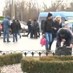 В канун Нового года на автостанциях царит хаос: люди торопятся попасть домой, к родным (ВИДЕО)