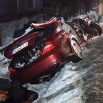 Два молдаванина пострадали в результате серьёзной аварии в Румынии (ВИДЕО)