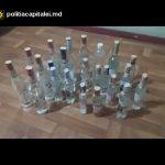 Полиция Чекан изъяла несколько сотен бутылок поддельного алкоголя (ВИДЕО)