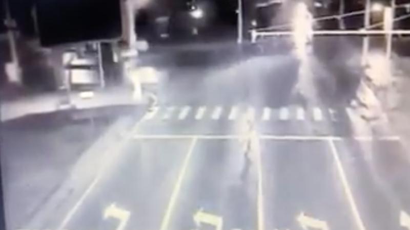 Момент смертельного ДТП в столице попал на видео