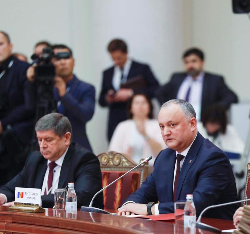 Додон: Национальные интересы Молдовы требуют укрепления связей со странами ЕАЭС (ФОТО, ВИДЕО)