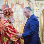 Додон: Без православной веры у Молдовы нет будущего (ФОТО)