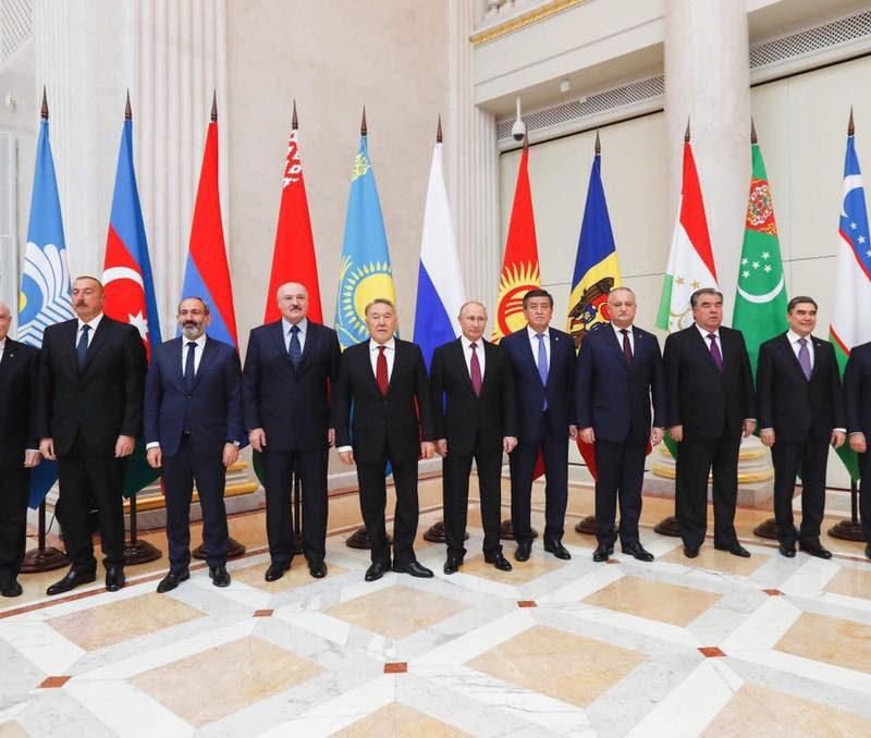 Додон принял участие в неформальной встрече лидеров стран СНГ