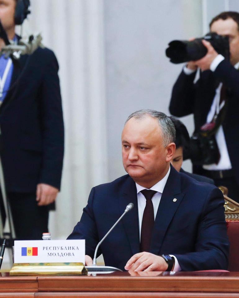 Додон: У Молдовы есть будущее, если последовательно расширять связи и на Западе, и на Востоке (ВИДЕО)