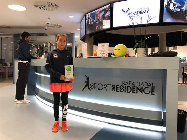 Молдавская теннисистка стала победительницей чемпионата TEN-PRO Global Junior Tour (ФОТО)