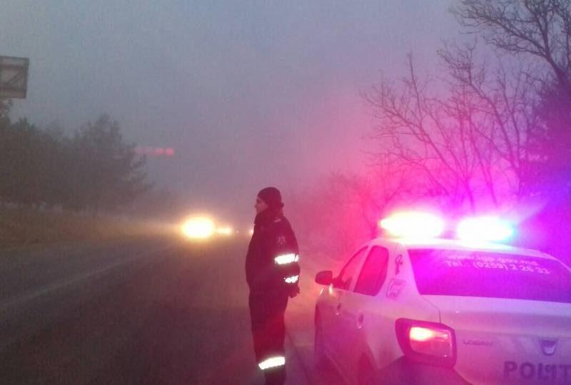 Внимание, водители! На дорогах страны густой туман
