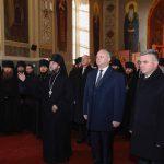 Додон встретился с Красносельским: президент и лидер ПМР вместе посетили Кицканский монастырь (ФОТО)