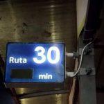 На столичных остановках появились электронные табло, информирующие о прибытии троллейбусов (ФОТО)