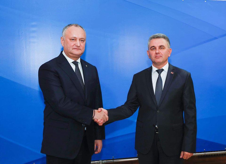Додон и Красносельский провели встречу в Бендерах: о чем говорили президент и лидер Приднестровья (ВИДЕО)