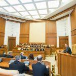 Иностранные дипломаты впервые посетили отремонтированное здание президентуры (ФОТО, ВИДЕО)