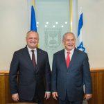 Президент встретился с премьером Израиля Беньямином Нетаньяху (ФОТО)