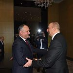 Додон поздравил Алиева с днем рождения