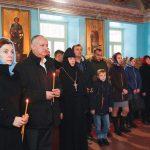 Семья президента приняла участие в службе в монастыре Хынку (ФОТО)