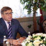 Генеральный секретарь Межпарламентской ассамблеи СНГ Юрий Осипов поздравил Игоря Додона с Новым годом