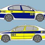 Приднестровцам предложили выбрать, как будет выглядеть патрульная машина ГАИ (ФОТО)