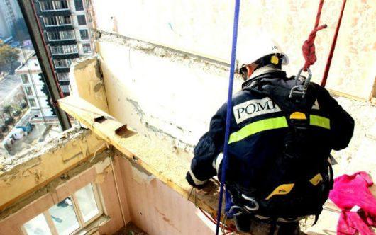 Жильцы пострадавшего от взрыва дома на Рышкановке вернулись в родные стены