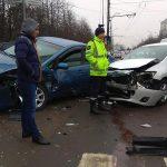 ДТП на Рышкановке: два автомобиля сильно повреждены (ФОТО)