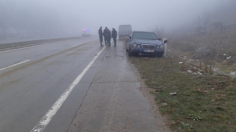 Цепная авария из-за тумана: в Яловенах столкнулись сразу 10 автомобилей (ФОТО)