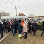 ЧП на Чеканах: водитель маршрутки потерял сознание прямо за рулём (ФОТО)