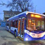 Жителям муниципия предложили самостоятельно выбрать оптимальный маршрут новых троллейбусов