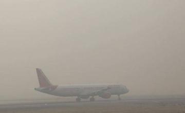 Работа Кишинёвского аэропорта затруднена из-за густого тумана (ТАБЛО)