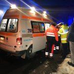 Автомобиль с молдавскими номерами перевернулся в Яссах (ФОТО)
