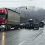 Цепная авария на Петриканах: пострадали 3 автомобиля (ФОТО)