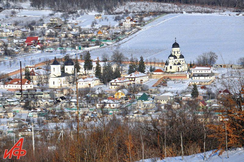 Крещенье в монастырях Молдовы