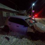 Подвыпивший бельчанин врезался на своём авто в газовую трубу (ФОТО)