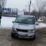 В Бельцах пьяный водитель врезался в электрический столб (ФОТО)