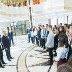 В президентуре стартовали обещанные дни открытых дверей (ФОТО)