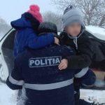 Два ребёнка пропали во время снежной бури (ФОТО)