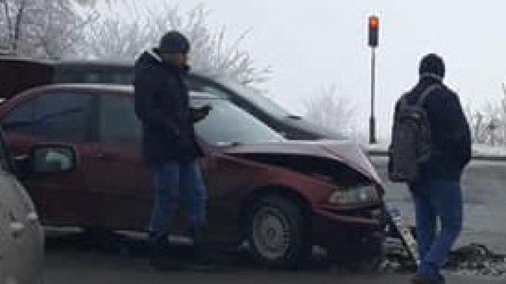 Авария на трассе Кишинёв-Яловены: есть пострадавший (ФОТО)